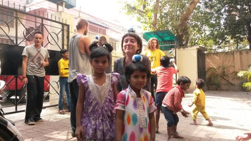 Ash and 2 Girls at a Nabadisha